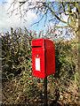 TM2987 : Postbox at Dentonwash Bridge by Adrian S Pye