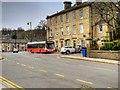 SD7917 : Bus Stop on Ramsbottom Lane by David Dixon