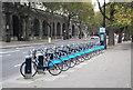 TQ3080 : Bike hire, Victoria Embankment by N Chadwick