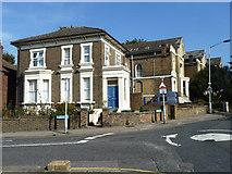 TQ3874 : Houses on Morley Road, SE13 by Robin Webster