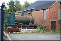 SS6695 : Swansea Museum Store - fireless locomotive by Chris Allen