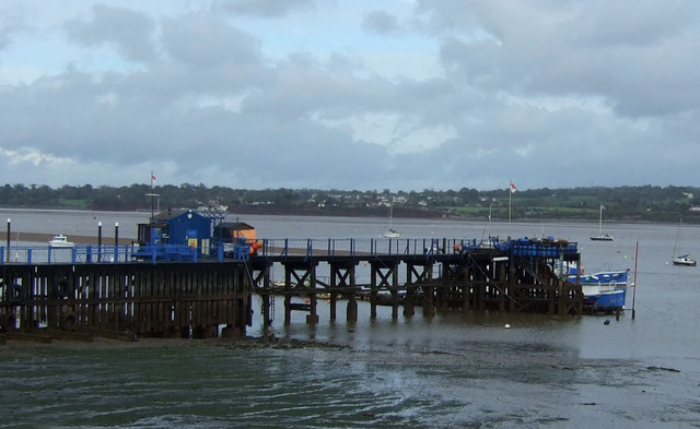 Jetty for Starcross-Exmouth Ferry