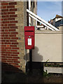 TM4656 : High Street Postbox by Adrian Cable
