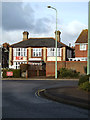 TM4557 : The Railway Public House, Aldeburgh by Adrian Cable