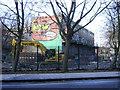 TQ3278 : Demolition site by Heygate Street, Heygate Estate by Robin Stott