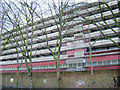 TQ3278 : Heygate Estate flats by Rodney Place awaiting demolition by Robin Stott
