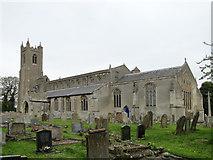 TF5315 : Terrington St. John's church by Adrian S Pye