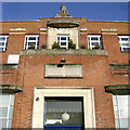 TQ3278 : Walworth Clinic, Walworth Road frontage details by Robin Stott