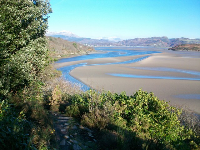 Afon Dwyryd Estuary at Portmeirion