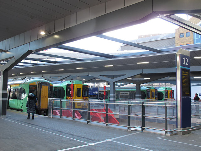 London Bridge station: new platforms 12 to 15