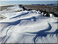 NY4411 : Snowdrifts on High Street by Steve Partridge