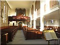 NU1034 : Interior of St Mary's Church, Belford by Graham Robson