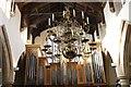 SU3987 : Chandelier in the Church by Bill Nicholls