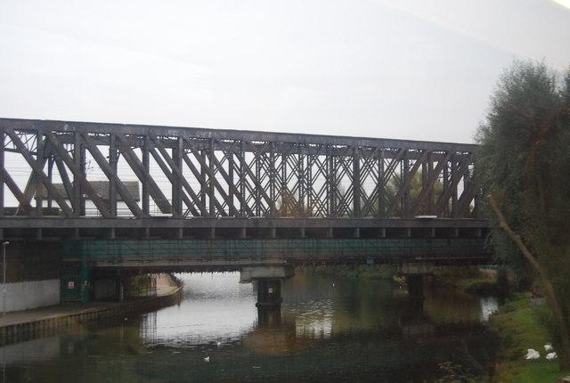 East Coast Main Line Bridge over the River Nene