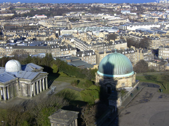 Calton Hill (view from Nelson Monument)