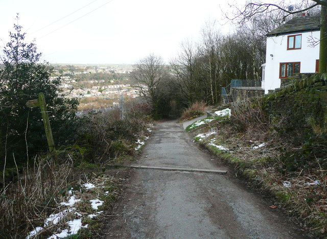 North Dean Road at Lower Tinker Hey