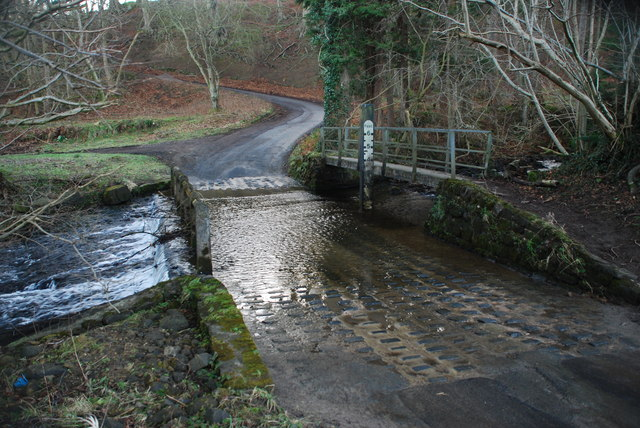 Ford at Fearby Low Moor