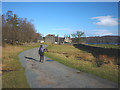 SD3096 : Approaching Coniston Hall from the south by Karl and Ali