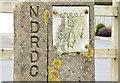 J4263 : NDRDC posts, Ballygowan (February 2015) by Albert Bridge
