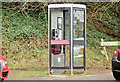 J4363 : Telephone box, Ballygowan (February 2015) by Albert Bridge