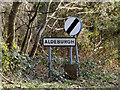 TM4459 : Aldeburgh Town Name sign by Adrian Cable