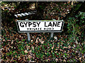 TM4460 : Gypsy Lane sign by Adrian Cable