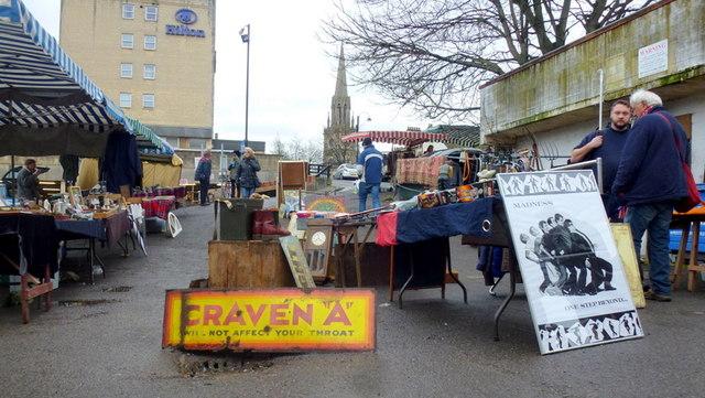 Walcot Street flea market, 2