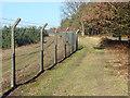 SU8763 : Barossa range fence line by Alan Hunt