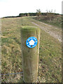 TF7721 : Footpath and Circular Walk Sign near Great Massingham by Andy Parrett