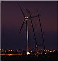 SD4360 : Heysham South wind farm construction by Ian Taylor