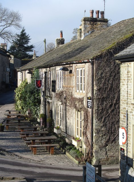 The Red Lion at Burnsall