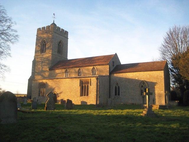 Weston Underwood: Church of St Lawrence by Nigel Cox
