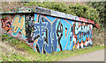 J3470 : Graffiti,  Lagan towpath, Stranmillis, Belfast (February 2015) by Albert Bridge