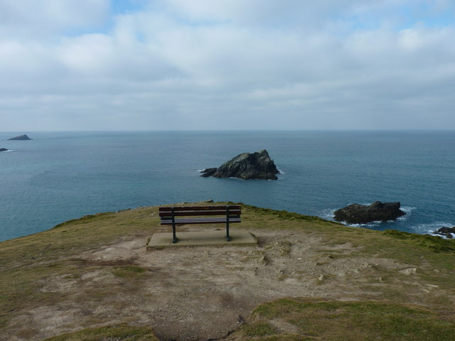 View from the end of the Warren, Pentire, Newquay
