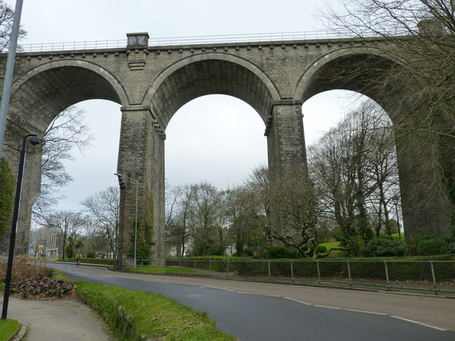 The viaduct, Trenance, Newquay