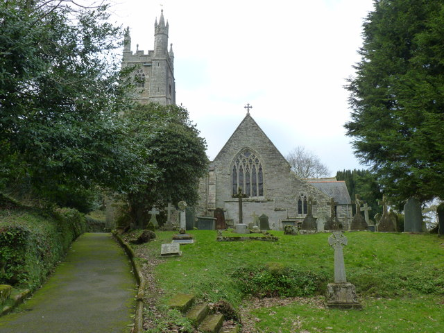 Church of St Mawgan-in-Pydar, St Mawgan