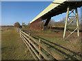 TL3672 : Conveyor belt from Ouse Fen by Hugh Venables