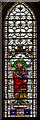 SK9771 : Stained glass window, S.XXII, Lincoln Cathedral by Julian P Guffogg