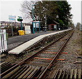 SN6212 : Ammanford railway station by Jaggery