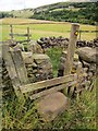 SE0829 : Stile on Calderdale Way by Derek Harper