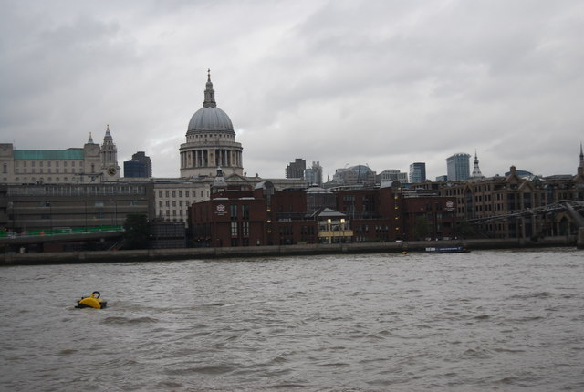 City of London School and St Paul's Cathedral