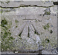 J3979 : Bench Mark, Holywood by Rossographer