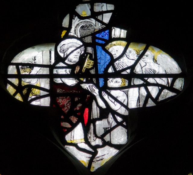 Tracery, Pricke of Conscience window, All Saints' church