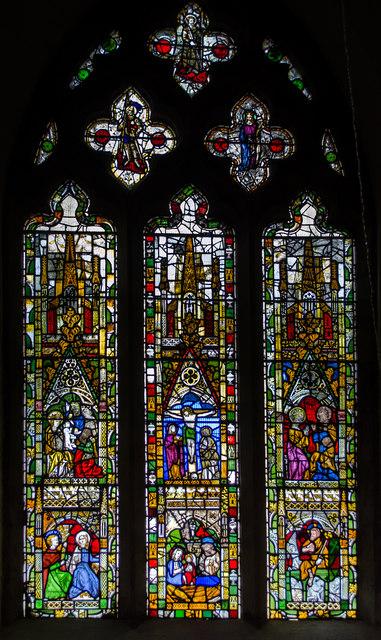 Lady Chapel window, All Saints' church, North Street, York