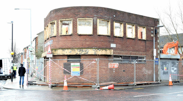 Former Bryson Street Surgery, Belfast - February 2015(1)