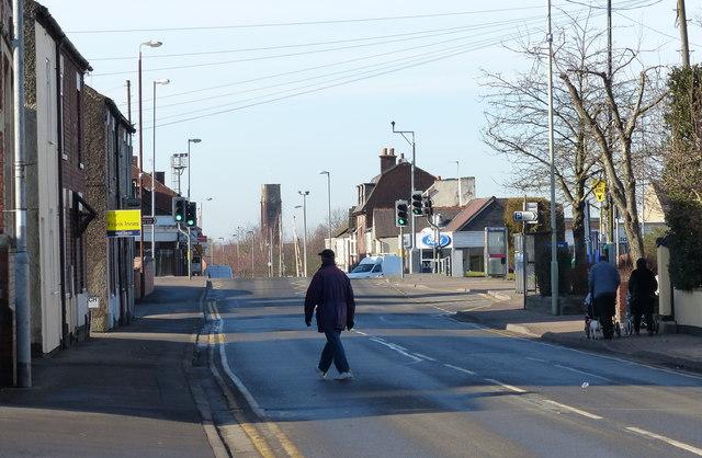 London Road in Coalville