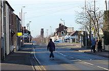 SK4214 : London Road in Coalville by Mat Fascione
