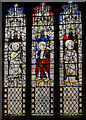 SE6051 : Stained glass window, All Saints' North Street, York by Julian P Guffogg