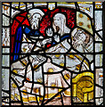 SE6051 : Detail, Act of Mercy window, All Saints' church, York by J.Hannan-Briggs