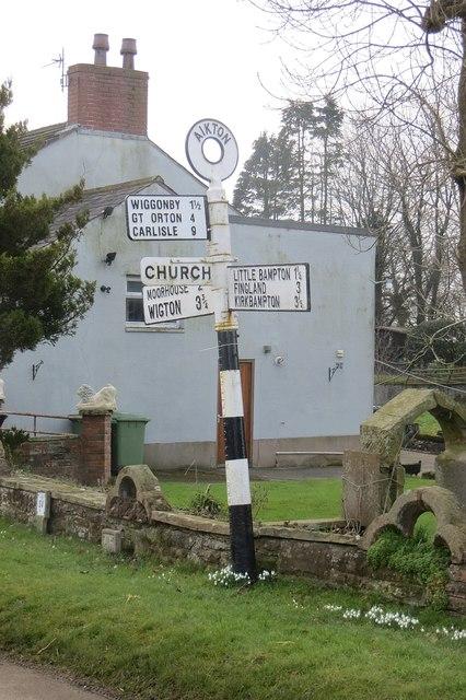 Signpost, Aikton